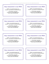 PTO Business Cards