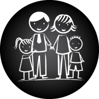 Generic Parent Group Logo (Black)