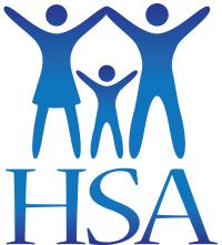 HSA Logo (blue, vertical)