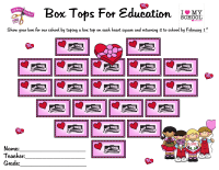February Box Tops Collection Sheet (20)