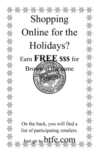 Marketplace flyer - Holiday shopping