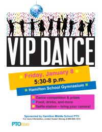VIP Dance Flyer