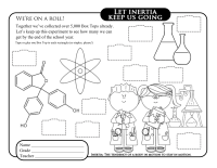 Science BTFE Collection Sheet