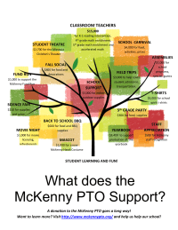 PTO Tree - Supporting the Community