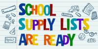 School Supply List Ready Twitter Graphic