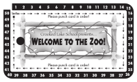 Carnival Punch Card