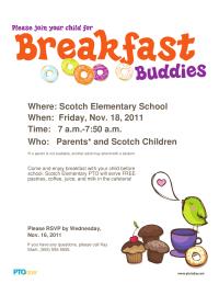 Breakfast Buddies Poster