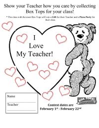 I Love My Teacher!