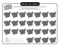 Fruit Roll Up Collection Sheet