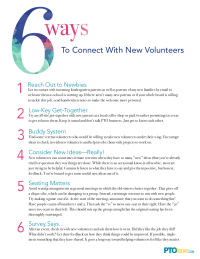 6 Ways To Connect With New Volunteers