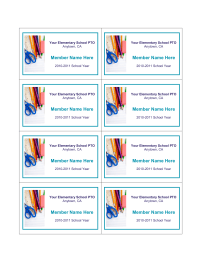 School pto membership cards pto today for Pta membership card template