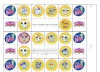 Littlest Pet Shop Collection Sheet