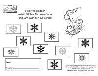 Snowflake Collection Sheet