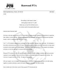Welcome School Staff/PTA Membership