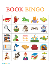 Book Bingo Cards