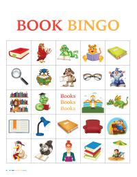 Book Bingo Cards