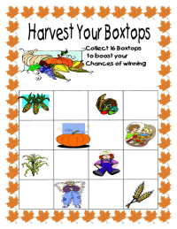 Harvest Your Boxtops for your school