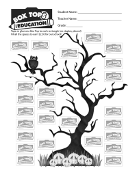 Halloween Tree Collection Sheet 25