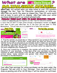 EBoxTops Flyer to Parents
