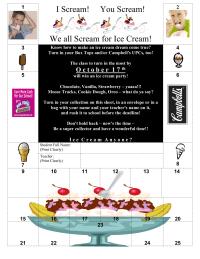 I Scream! You Scream! We all Scream for Ice Cream!