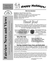 One-Page Newsletter