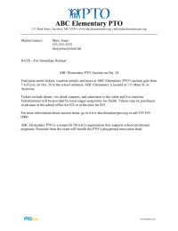 PTO Today: Press Release Template