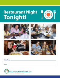 Restaurant Night Tonight Flyer (8.5x11)