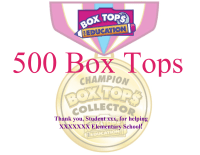 Champion BoxTops Collector Certificate-editable