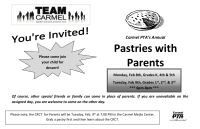 Pastries with Parents-simple half sheet flyer