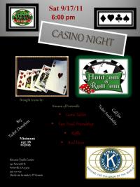 Casino Night Flier
