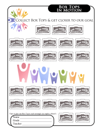 Minds In Motion Collection Sheet