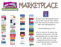 Box Tops Marketplace Flyer by Nik