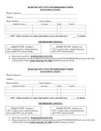 Membership forms pto today membership forms pronofoot35fo Image collections