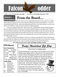 FES PTO NewsletterV1.I3