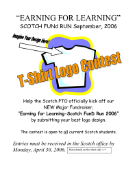 Fun Run - Logo Design Contest Flyer