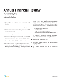 Annual Financial Review Guidelines (PDF)