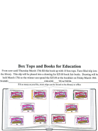 Box Top Book