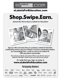 e-Labels for Education Overview