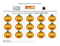Pumpkin Form for October