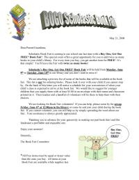 Scholastic BOGO Letter