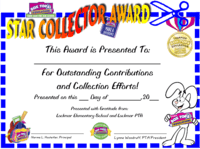 Star Collector Award
