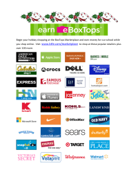 BoxTops Marketplace Holiday Shopping