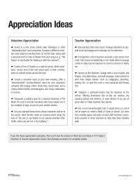 PTO Today: Sample Appreciation Ideas