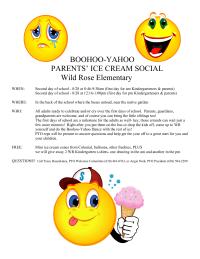 Boo Hoo Yahoo Ice Cream Social