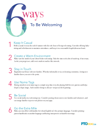 6 ways to be welcoming