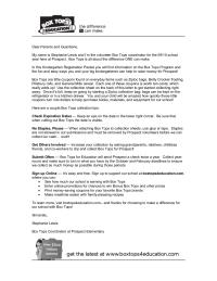 Kindergarten Registration Parent Letter