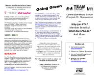 PTA Generic Brochure-Membership