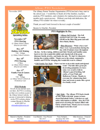 Bi-Monthly Newsletter