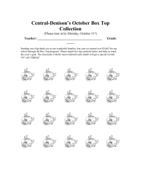 October BTFE Collection Sheet (25)