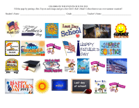 Celebrate the events of June 2013 - 25 ct editable WORD document